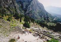 Delphi Tour : The theatre at Delphi