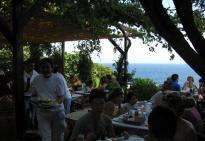 Sounion Tour : A restaurant at acape sounion